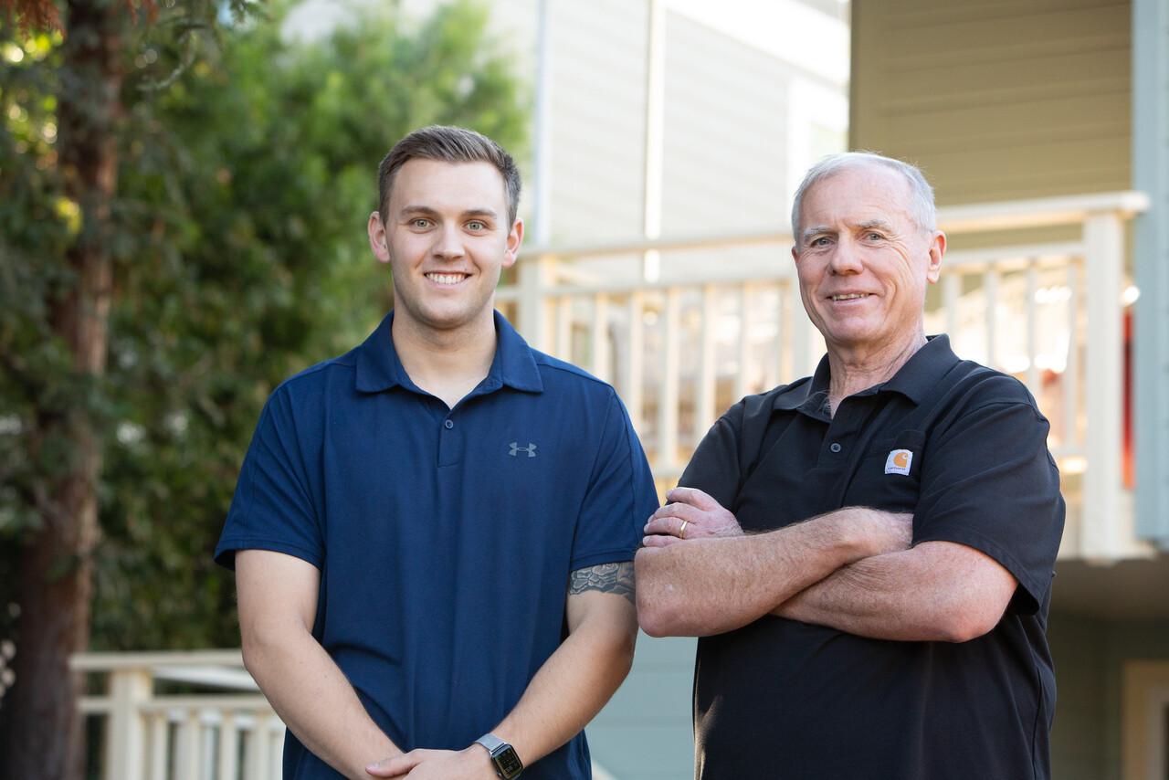 Collin Gannon + Brian Gannon - Gannon Construction Company Project Managers