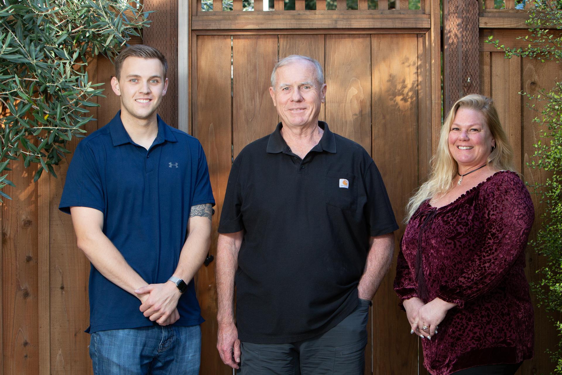 Gannon Construction Company Team - Collin Gannon, Brian Gannon, Gretchen Stagg